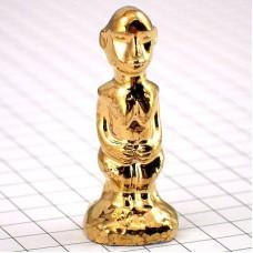 フェーブ・アフリカの女ゴールド金色