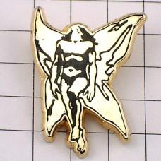 ピンバッジ・シュドマク画SF大きな翼のある男