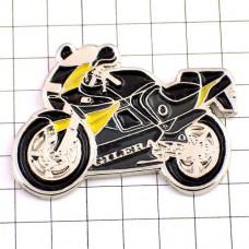 ピンズ・ジレラ二輪バイク黒黄オートバイ
