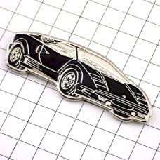 ピンズ・ランボルギーニ黒い車