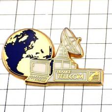 ピンズ・コンピュータ電話アンテナ地球