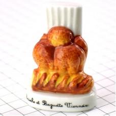 フェーブ・ブリオッシュとバゲットヴィエノワーズ菓子パン帽子