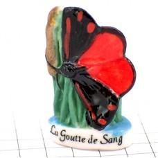 フェブ・赤と黒のチョウチョウ蝶々
