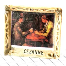 フェーブ・セザンヌ画「カード遊び」