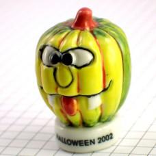 フェブ・ハロウィンのかぼちゃ南瓜パンプキンお化け