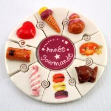 フェブ・お菓子のパズル型