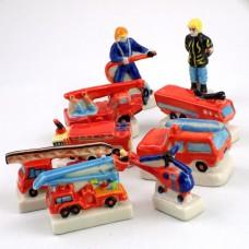 フェブ・消防士や消防車9個