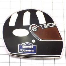 ピンズ・アライのヘルメットF1ロスマンズ車レース