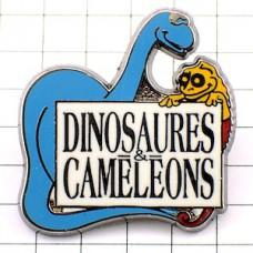 ピンズ・恐竜とカメレオン漫画