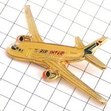 ピンバッジ・飛行機エールアンテール航空エールフランス航空