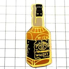 ピンバッジ・ジャックダニエルお酒のボトル瓶