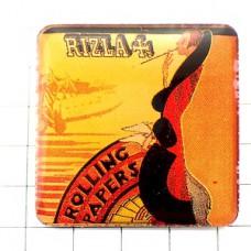 ピンズ・リズラ煙草巻紙レトロ広告