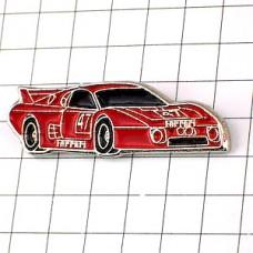 ピンズ・フェラーリBBLM80赤い車