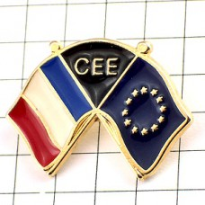 ピンズ・フランス国旗ユーロEU旗トリコロール