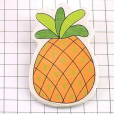 ピンズ・New!パイナップル木製