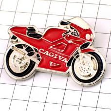 ピンズ・カジバ二輪バイク赤