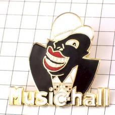 ピンバッジ・ミュージックホール黒人歌手