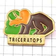 ピンズ・トリケラトプス恐竜