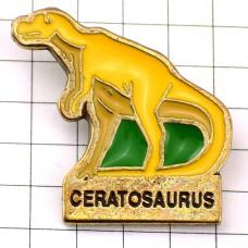 ピンズ・ケラトサウルス恐竜