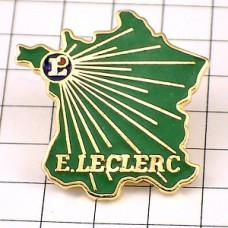 ピンズ・フランス地図型ルクレールL