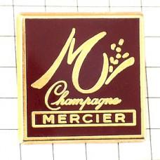 ピンバッジ・メルシエ酒シャンパーニュM