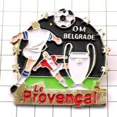 ピンバッジ・オリンピックマルセイユOMサッカーチーム