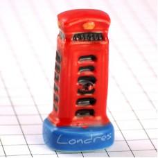 フェーブ・ロンドン赤い電話ボックス英国イギリス