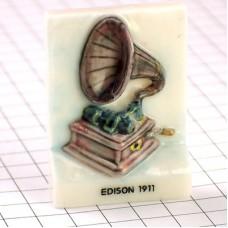フェーブ・エジソン蓄音機グラモフォン音楽音響機器
