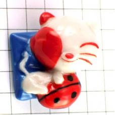 フェーブ・てんとう虫と猫