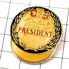 ピンズ・チーズ会社プレジデント木箱カマンベール蓋