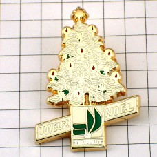 ピンバッジ・クリスマスツリー木
