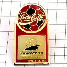 ピンズ・サッカーワールドカップ大会コカコーラ球