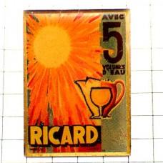 ピンズ・リカール太陽レトロ広告パスティス酒