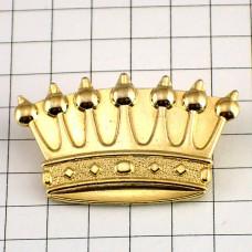 ピンズ・ガレットデロワ金色ゴールド王冠