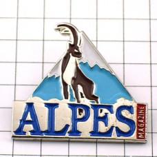 ピンズ・アルプス山脈の鹿