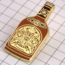 ピンバッジ・シーバスリーガル酒ウイスキー瓶