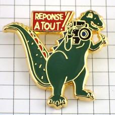 ピンズ・一眼レフカメラ写真ティラノサウルス恐竜