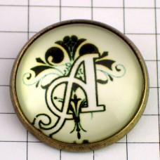 ピンズ・New!アルファベット「A」