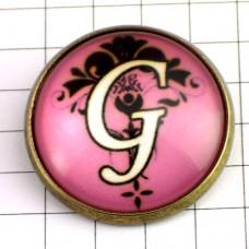 ピンズ・New!アルファベット「G」