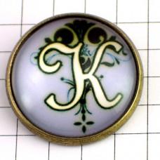 ピンズ・New!アルファベット「K」
