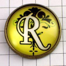 ピンズ・New!アルファベット「R」