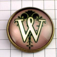 ピンズ・New!アルファベット「W」