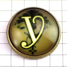 ピンズ・New!アルファベット「Y」