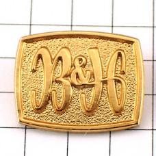 ピンズ・煙草たばこB&Hゴールド金色