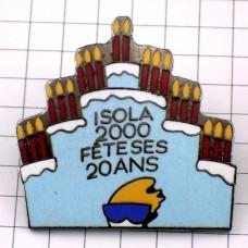 ピンズ・イゾラスキー20周年のケーキお菓子2000年
