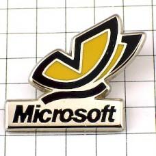 ピンズ・黄色蝶々マイクロソフト社