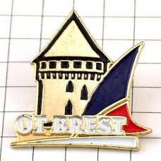 ピンバッジ・ブレストお城フランス軍