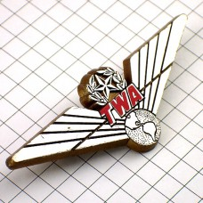 ブローチ・TWA航空プラスチック製