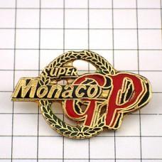 ピンバッジ・モナコF1グランプリ車レース