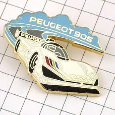 ピンズ・プジョー905レースの車
